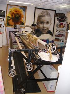 Pastellens Gammill-maskin