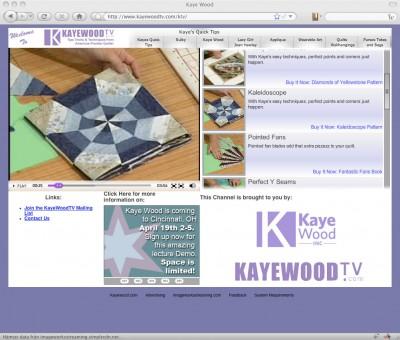 Kaye Wood TV