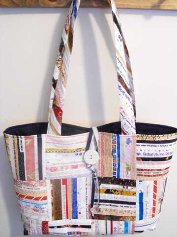 Väska från Selvage Blog
