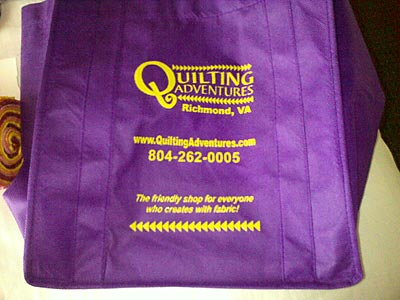 Här kommer godsaker från Quilting Adventures