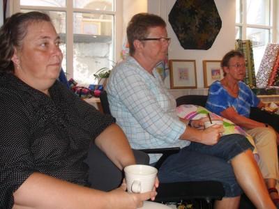 Lisbeth, Ann-Christine och Ane