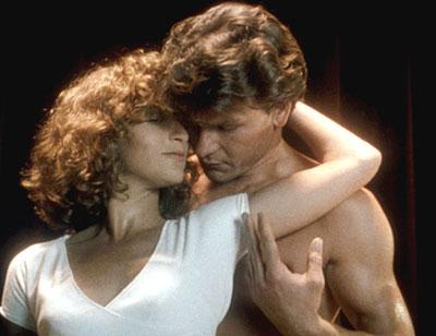 Patrick Swayze och Jennifer Grey i Dirty Dancing