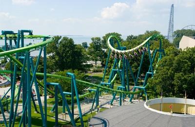 Bergochdalbanan Raptor på Cedar Point