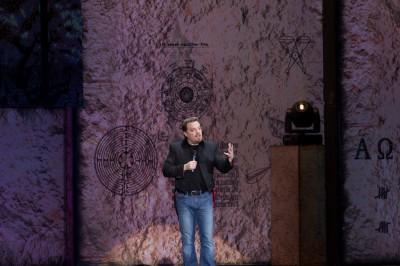 Eddie Izzard i högform! Foto av KM. Klicka för att se bilden större på hans Flickr-sida.