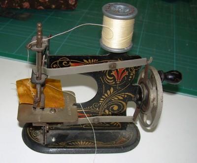 Gudruns symaskin och dess öglor