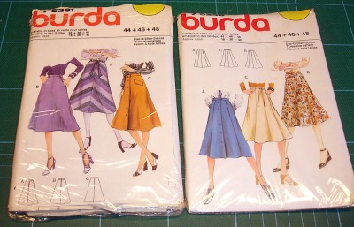 Jättecoola Burda-mönster