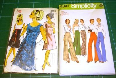 Ett Stil- och ett Simplicity-mönster