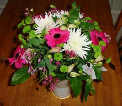 Blommor, även de från KM.
