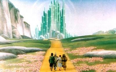 En helt annan Yellow brick road, nämligen den från Trollkarlen från Oz.